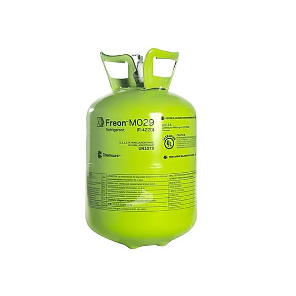 GAS REFRIGERANTE R-422D (MO29) - 11.35 KG - CHEMOURS