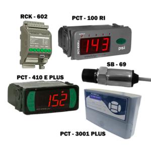 Controladores de presión